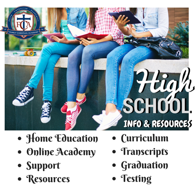 High School Curriculum, Resources, Records, Info through Home Schooling.